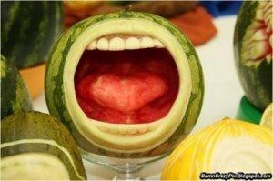 watermellon mouth